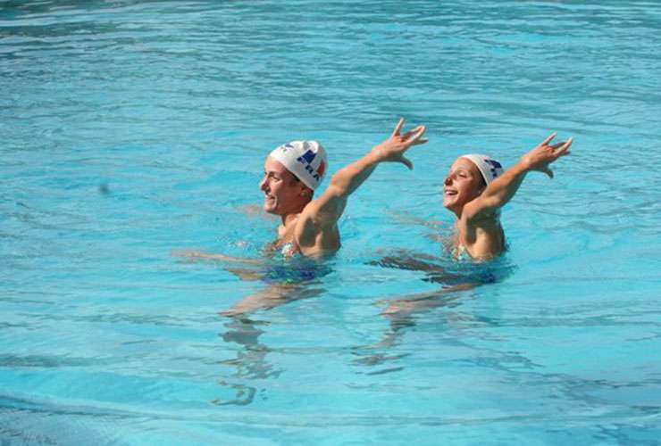 Synchronized Swimming Camp