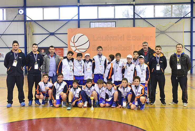 Loutraki Easter Basketball Cup 2015