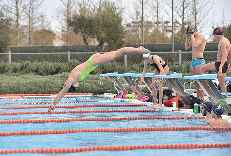 Swimming Training Camp Sportcamp