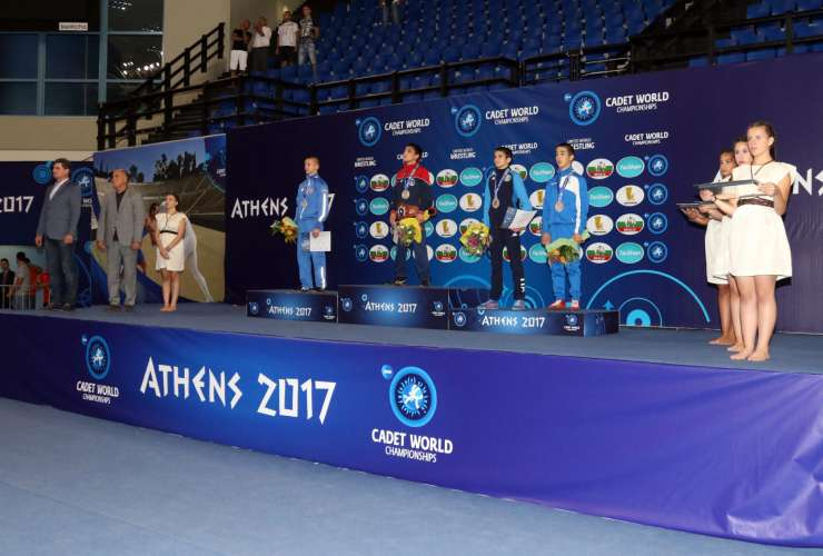 Medals Ceremony ATHENS 2017 - SPORTCAMP