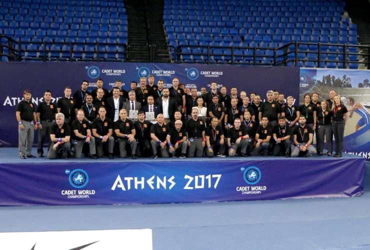 Medals Ceremony ATHENS 2017 - SPORTCAMP