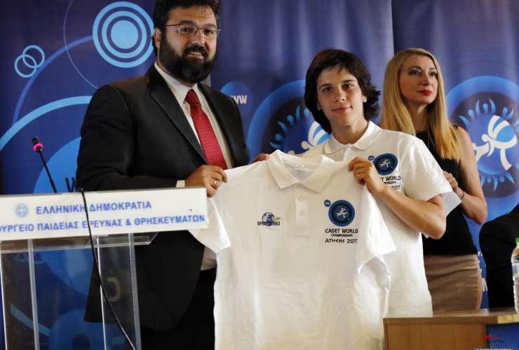 Press conference ATHENS 2017 - SPORTCAMP - Maria Pervolaraki