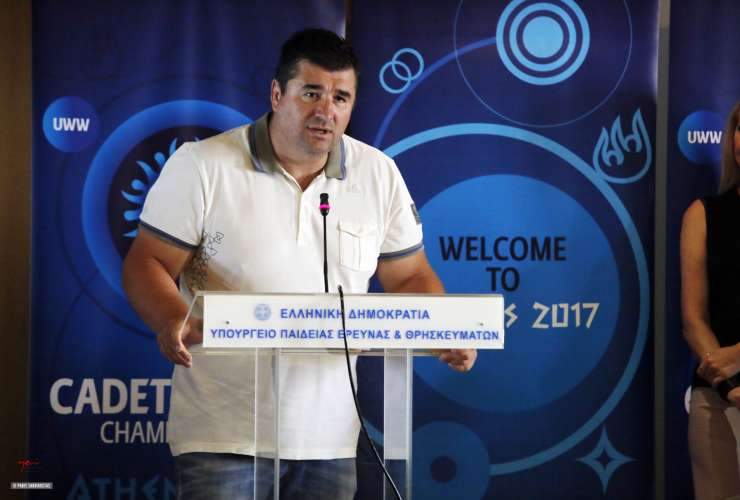 Press conference ATHENS 2017 - SPORTCAMP - Konstantinos Thanos