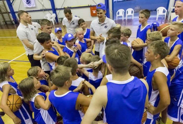 Slava Fedorchenko Basketball Camp 2018