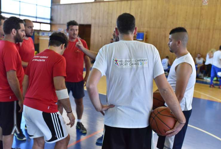 HELLENIC COMPANY SPORT GAMES 2017 - SPORTCAMP